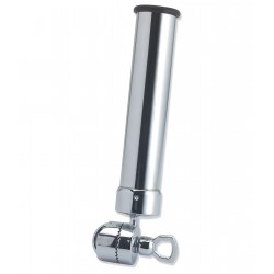 Portacanna chrome plated brass swivel to the side rails and pulpits