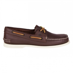 Sperry Topsider Shoe Authentic Original 2-Eye Classic Women Brown - Sperry Topsider