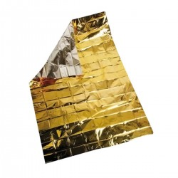 Isothermal blanket, silver and gold 160 x 210