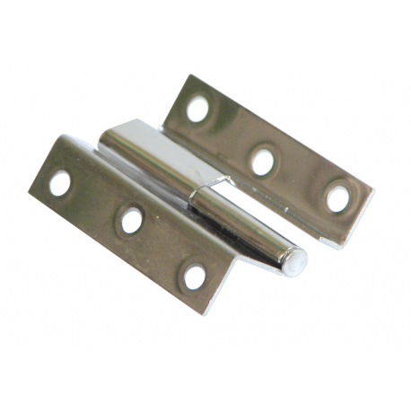 Removable hinge mm.55x35