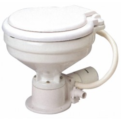 Electric marine WC in white porcelain, - TMC