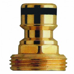 Accessories adapter brass
