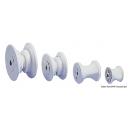 Spare nylon pulley for nose gear