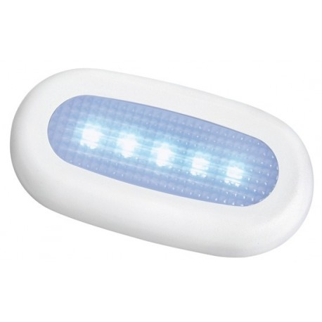 Luce di cortesia 5 LED stagna