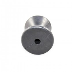 Central roller spare parts for trolleys mm.80