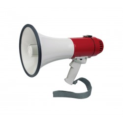 Megaphone electronic siren and whistle