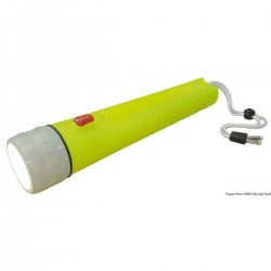 LED flashlight diving up to 50 meters.